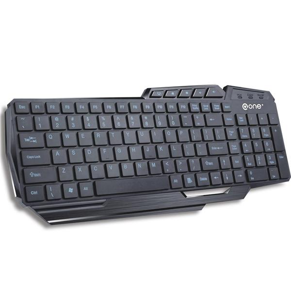 @ONE EK-604E USB Wired Multimedia Keyboard