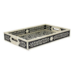 Imperial Beauty Tray in Black & White, Large