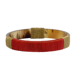 Barcelona Bangle in Red