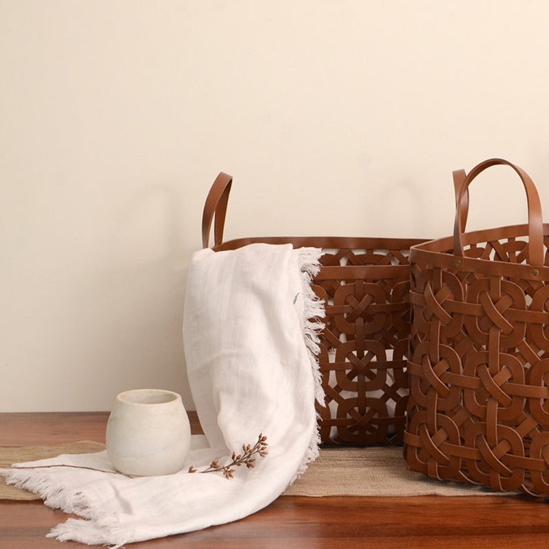 Au Natural Inherent Weaving Basket