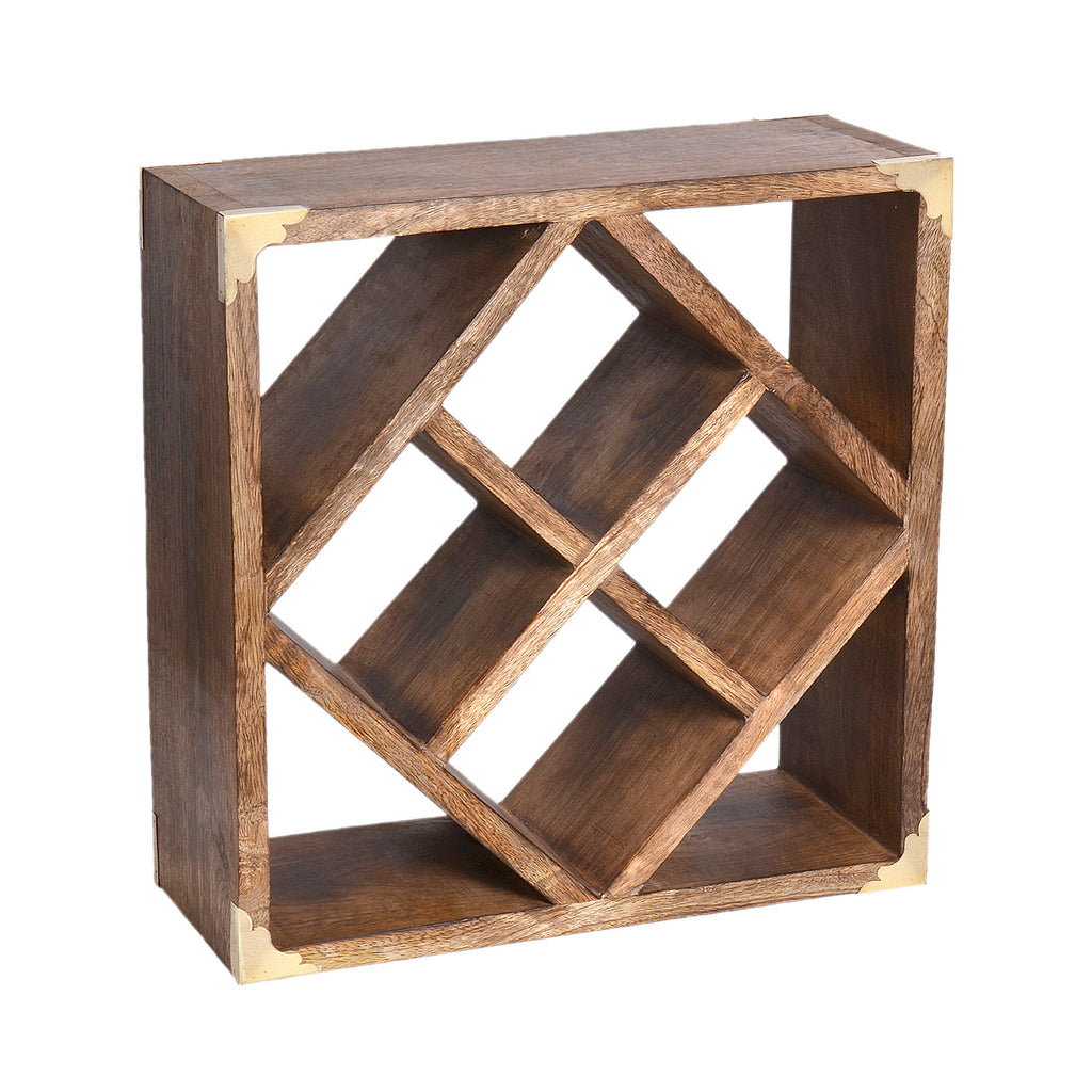Farmhouse Wine Rack, Medium