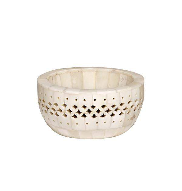 Chantilly Bowl in Natural Bone