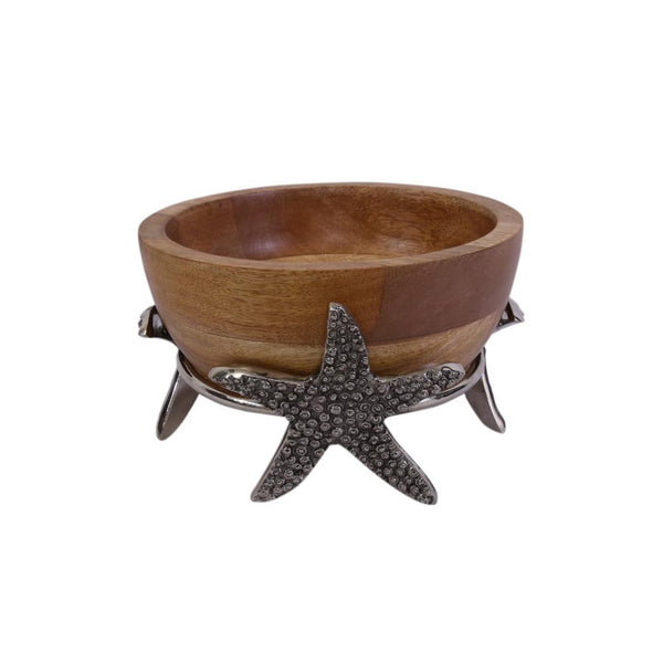 Coastal Life Bowl with Stand