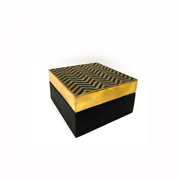 Lolita Box in Black & Gold