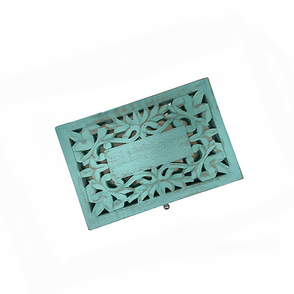 Wisteria Jewelry Box in Turquoise