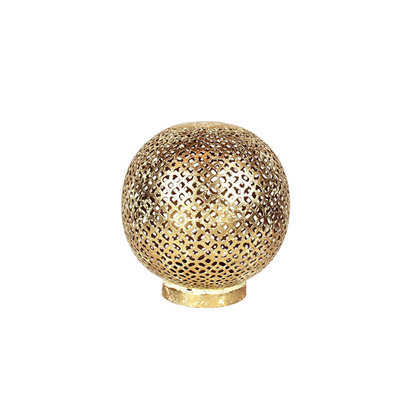 Mantra Globe Lantern Medium in Anitque Brass