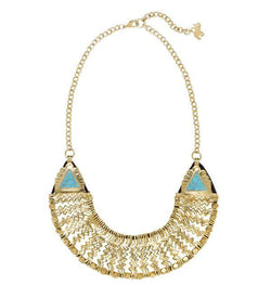 Cleopatra Necklace in Turquoise
