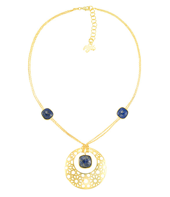 Persia Necklace in Blue