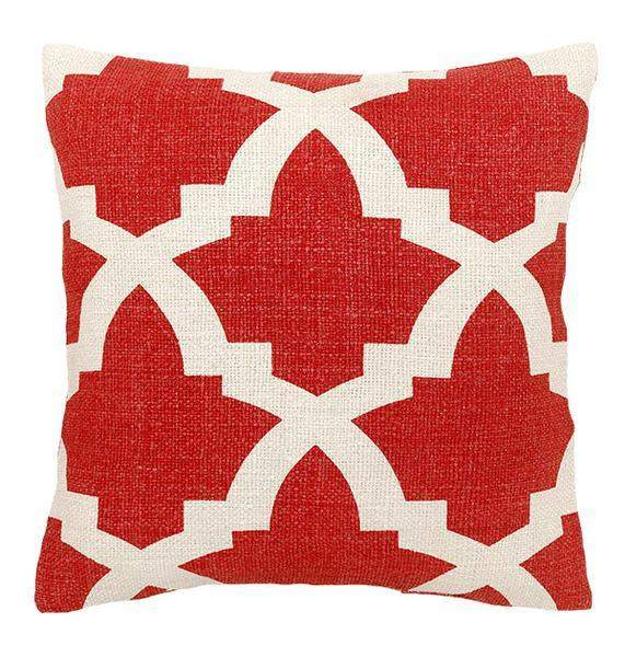 Bali Decorative Pillows in Coral