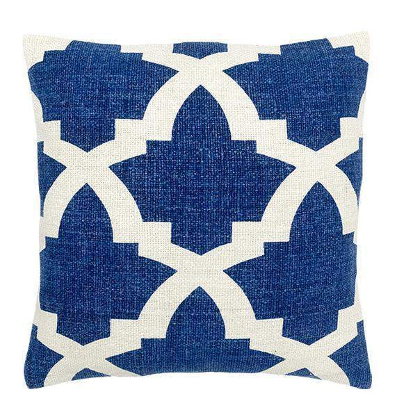 Bali Decorative Pillows in Blue