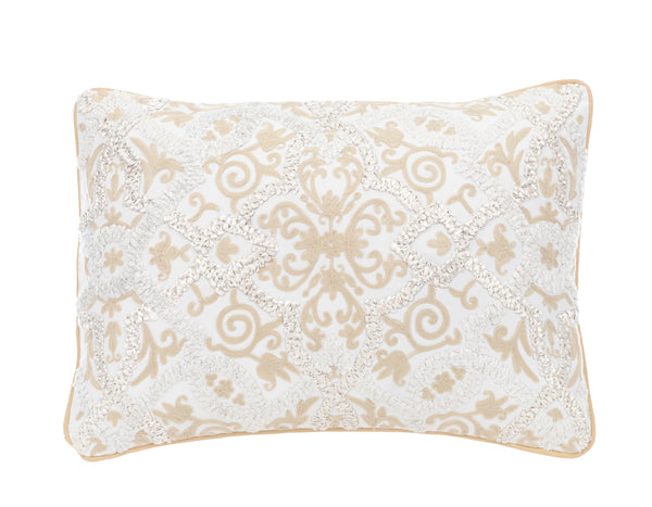Hanging Gardens Imperial Gold Pillow