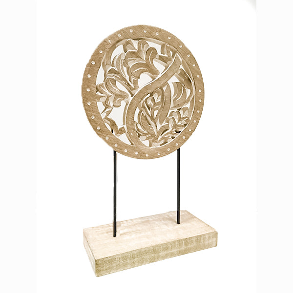 Centre Carved Wood Stand
