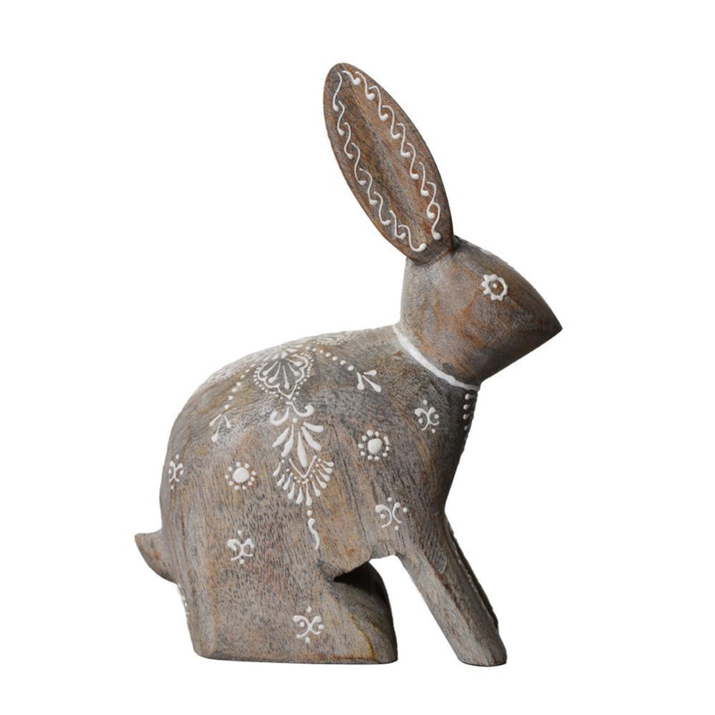 NATIVE NARRATIVE Trellis Bunny Sculpture