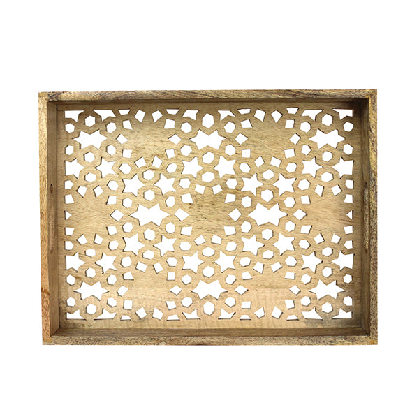 Marrakech Cut-Base Tray Medium in Natural