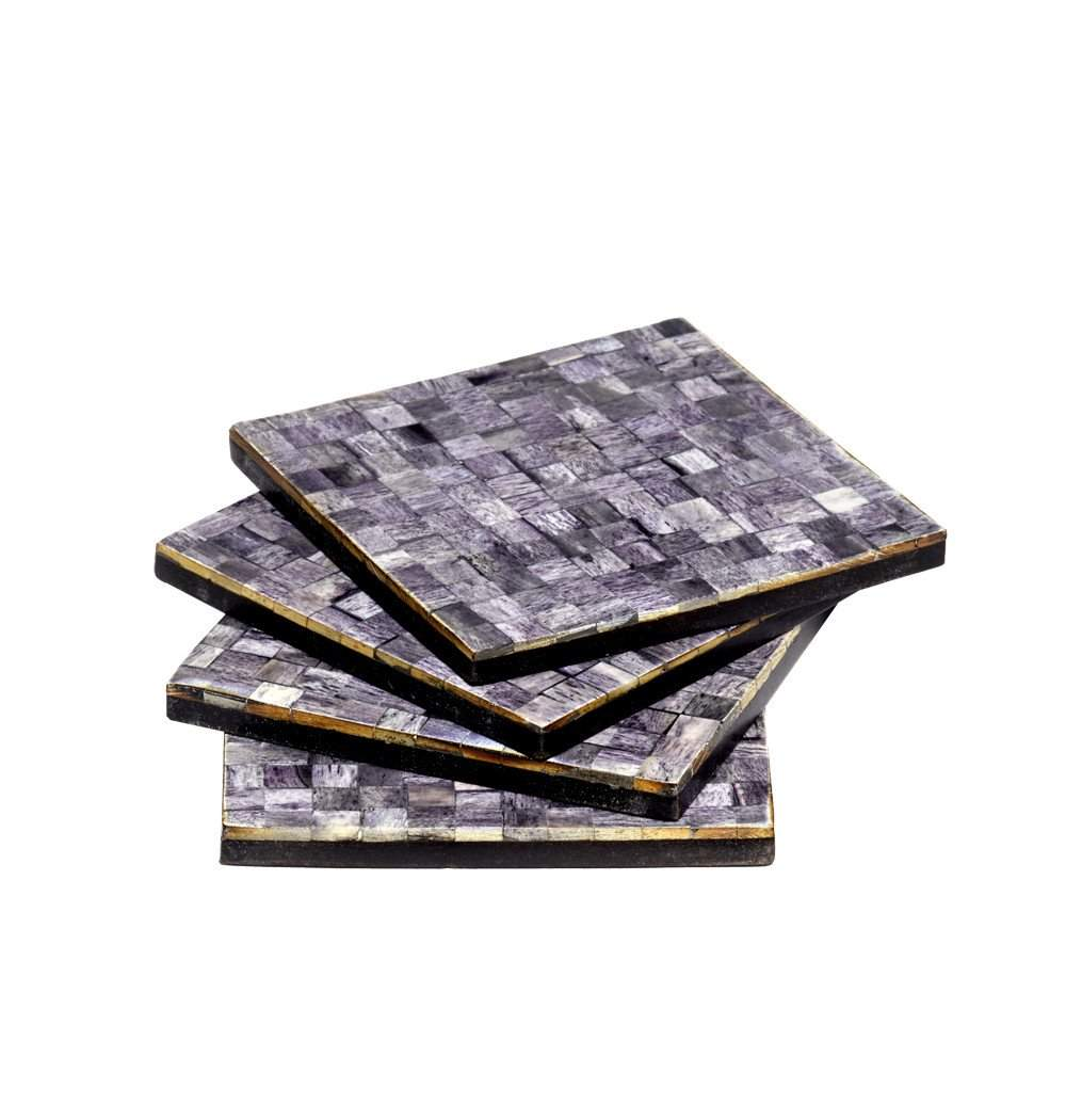 Congo In Grey Coasters
