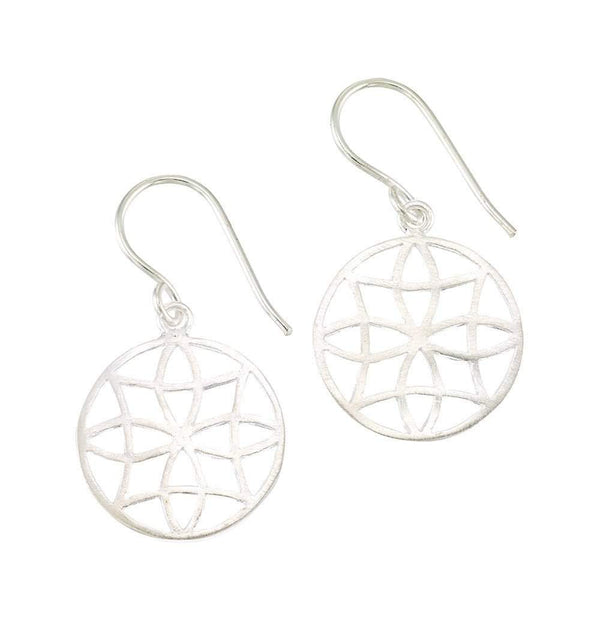 Filigree Earrings in Gold & Silver