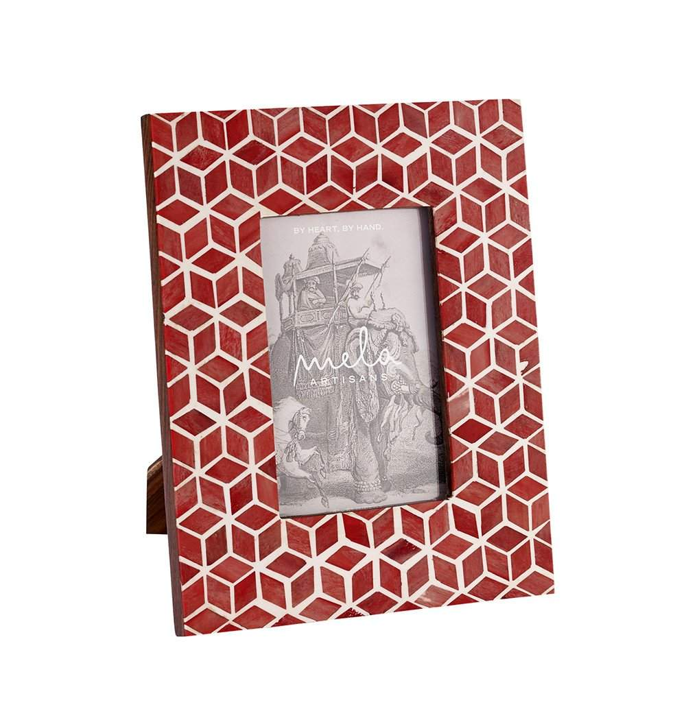Starshine Frame 4x6 in Marsala Red