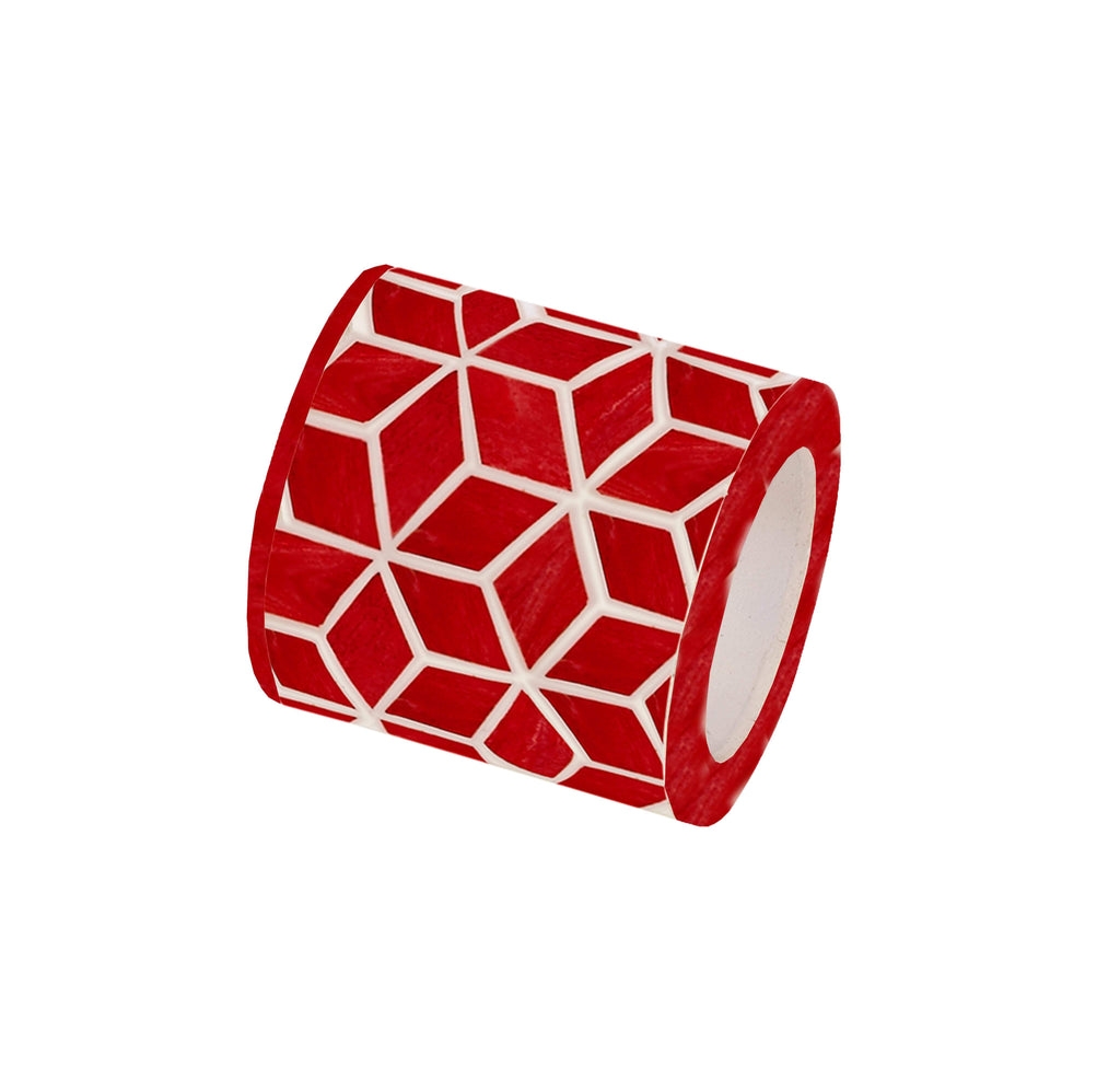 Starshine Napkin Ring in Marsala Red