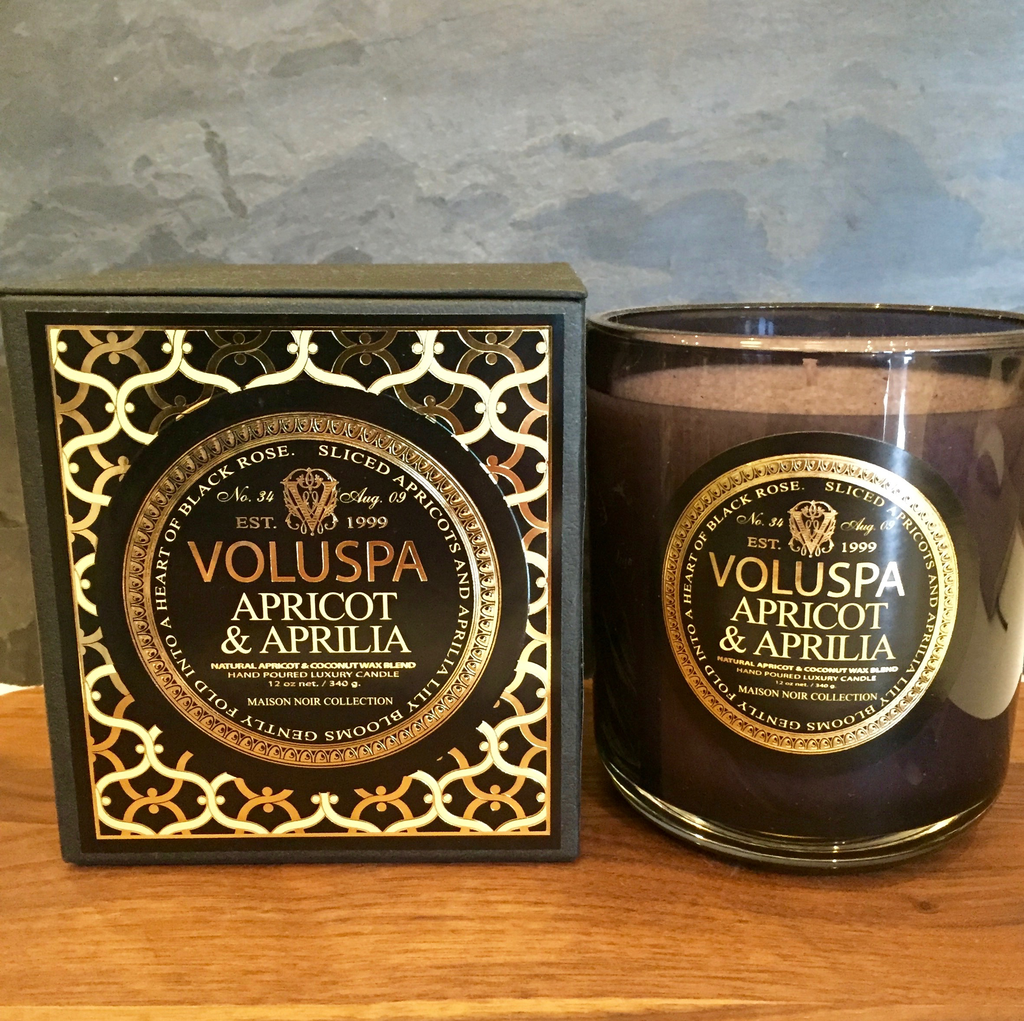 Voluspa 12oz Apricot & Aprilla Candle