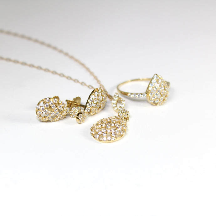 Daffodil - 3 Piece 18k Set