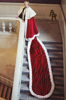 Sovereign Series King's Coronation Robe With a Train (Red)