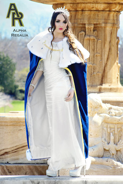 Queen's Royal Cloak (Blue)