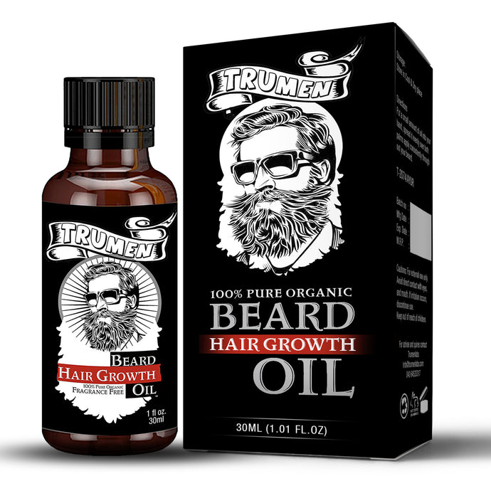 Beard Hair Growth Oil by TruMen