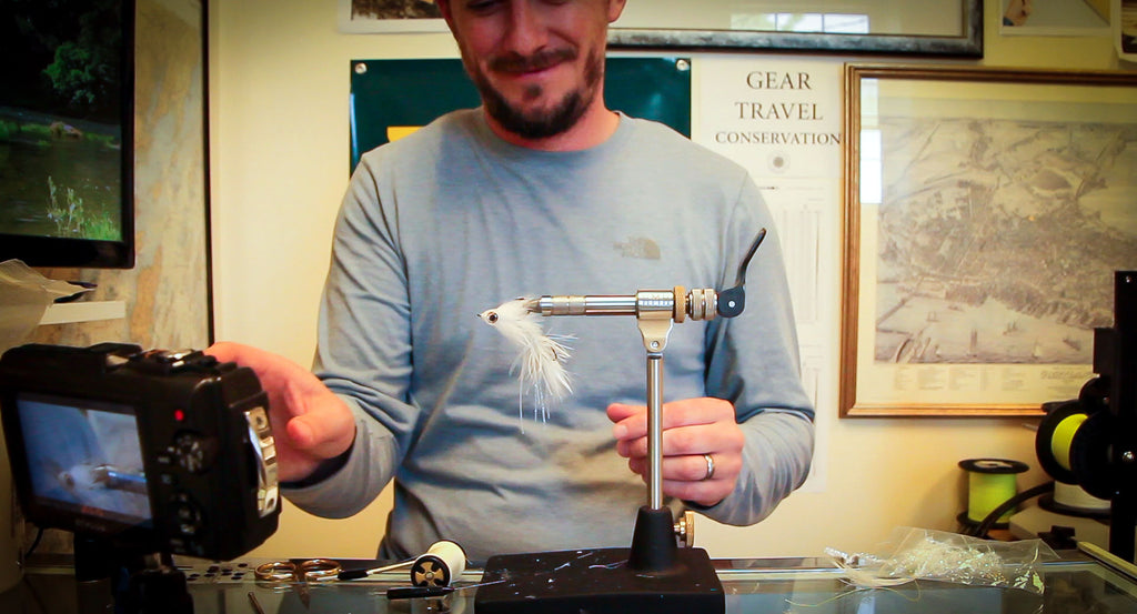 Video: Fly Tying Articulated Trout Streamer