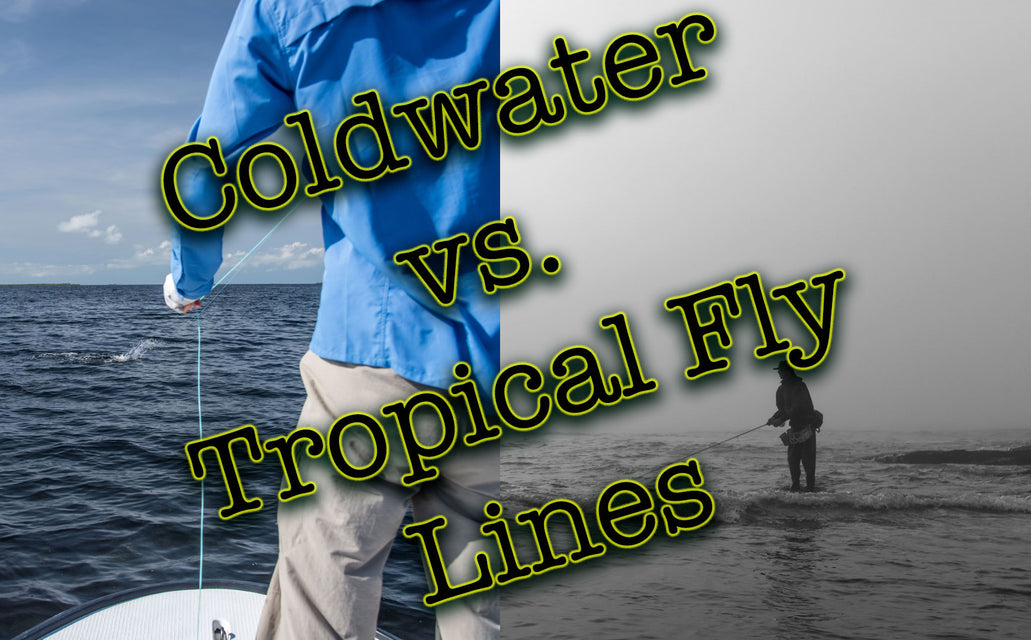 "What's the Difference Between a ""Coldwater"" and ""Tropical"" Fly Line?"