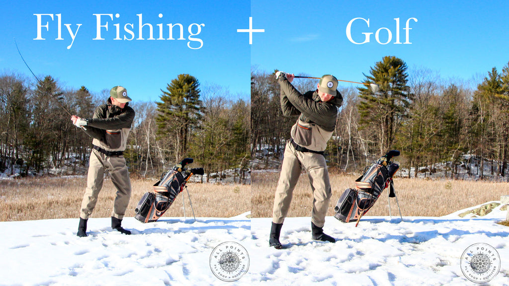 2 Ways How Fly Fishing + Golf Are The Same