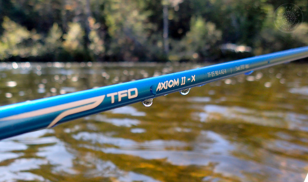 TFO Axiom II-X Fly Rod Review