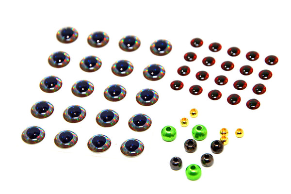 Fly Tying Eyes and Beads