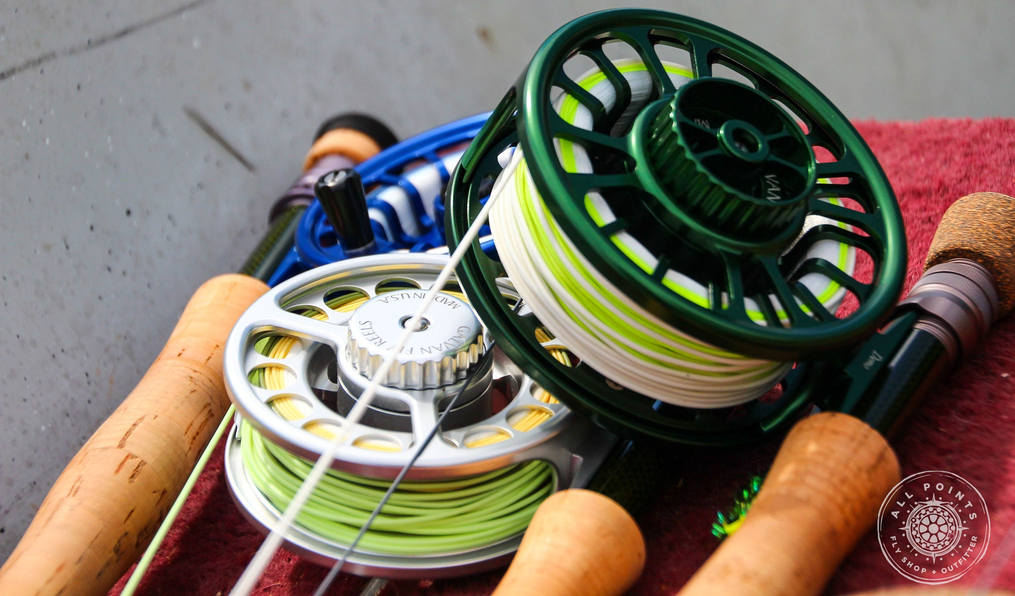 Galvan Fly Reels Review Fly Fishing Labrador Canada