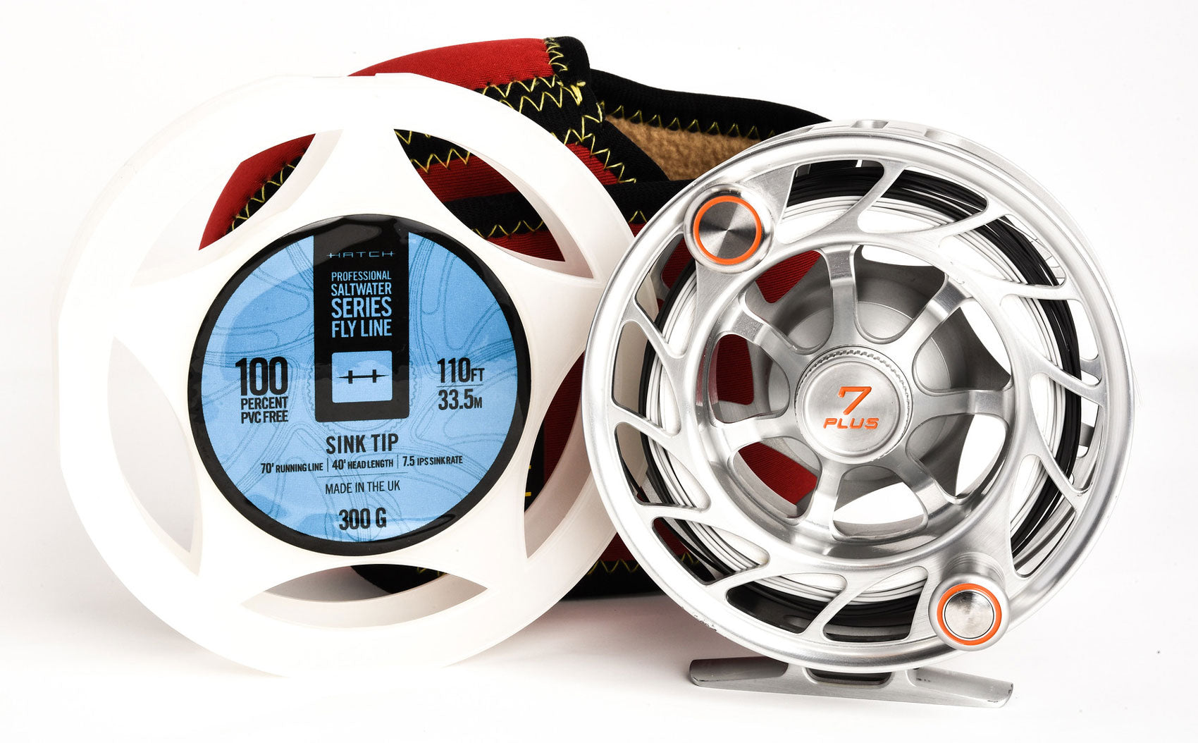 Hatch Fly Lines - Hatch Saltwater Fly Line - Hatch Finatic 7 Plus Fly Reel