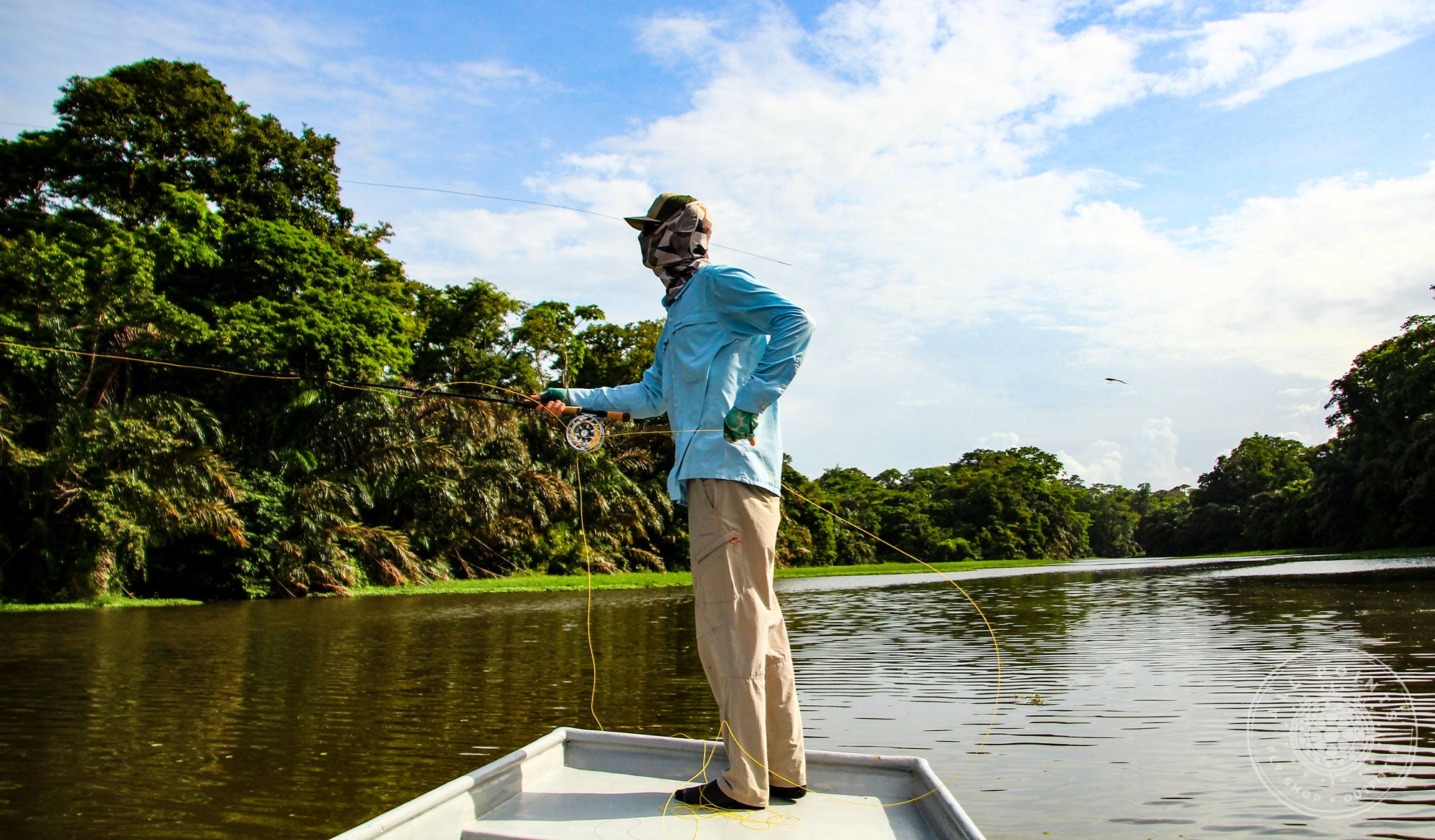 Fly Fishing Tarpon In Costa Rica