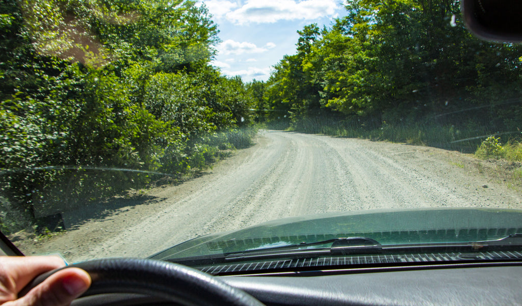 Driving On Logging Roads In Maine