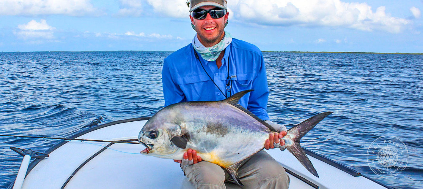 Fly Fishing For Permit Belize