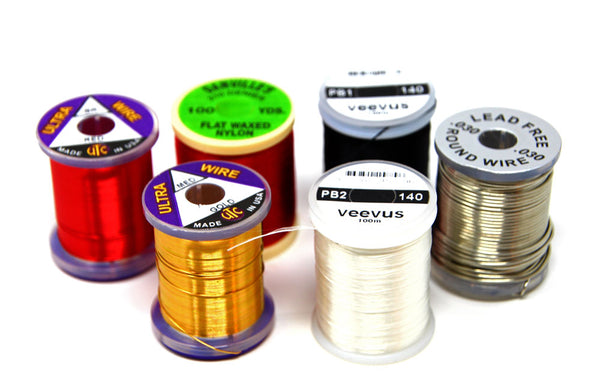 Fly Tying Thread Wire Tinsel
