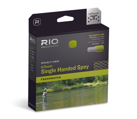 Rio InTouch Single Handed Spey 3D Fly Line