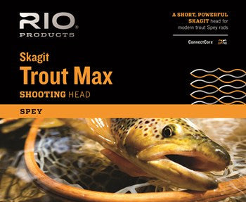 Rio Skagit Trout Max Shooting Head Fly Line