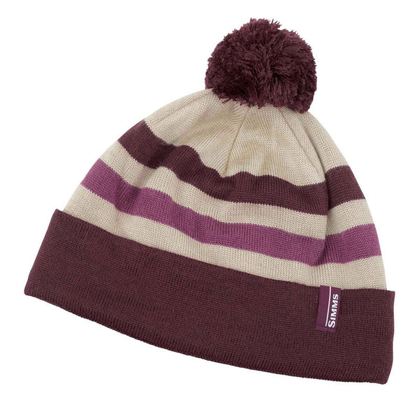 Simms Womens Fleece Lined Pom Hat