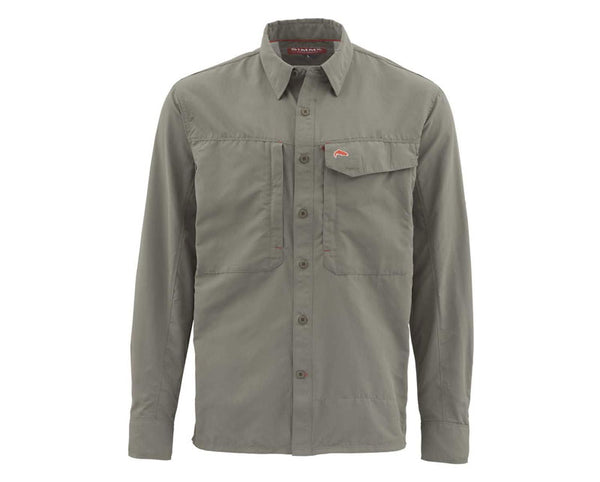 Simms Guide Shirt Solid - LS Olive