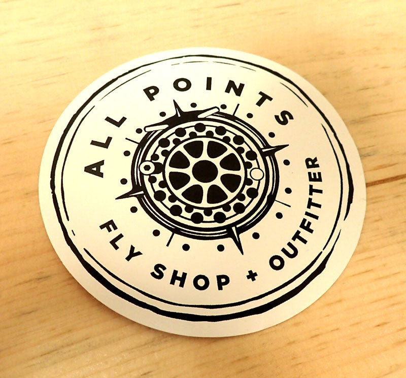 All Points Fly Shop Outfitter Sticker Decal