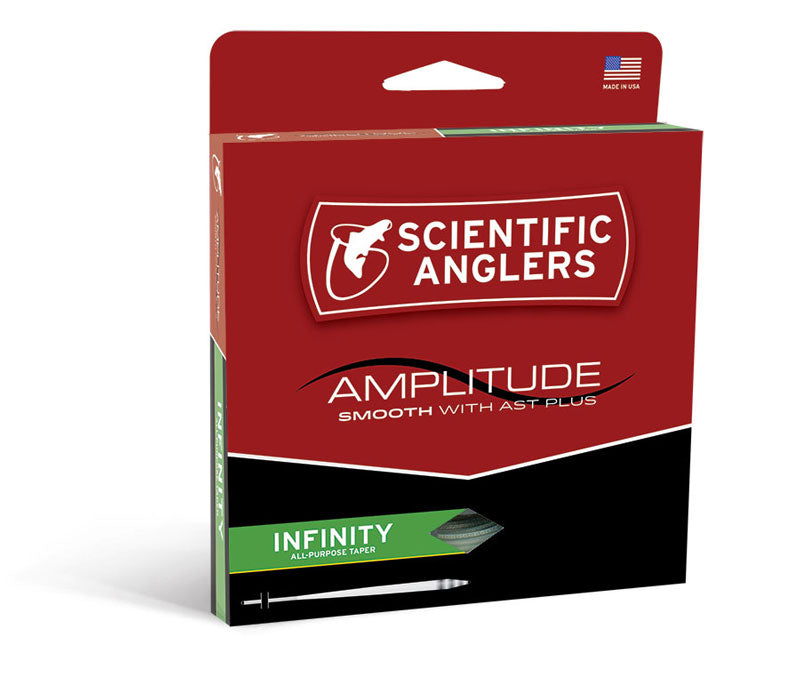 Scientific Anglers Amplitude Smooth Infinity Glow Fly Line