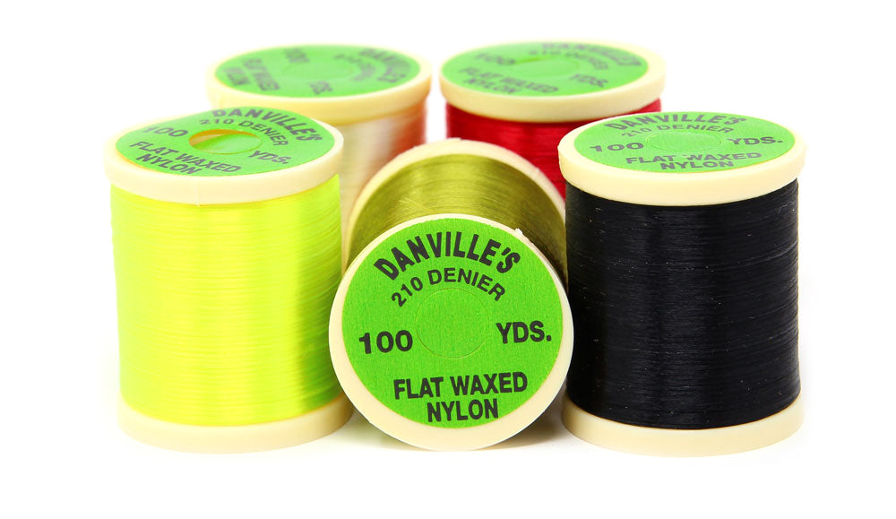 Danville's 210 Denier Flat Waxed Thread