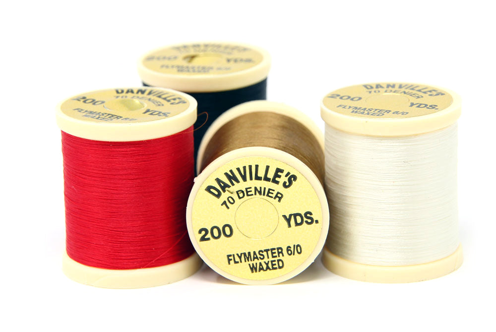 Danville's 70 Denier Flymaster Waxed Fly Tying Thread
