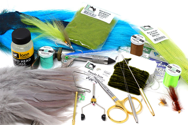 All Points' Beginner Fly Tying Kit - Fly Fishing