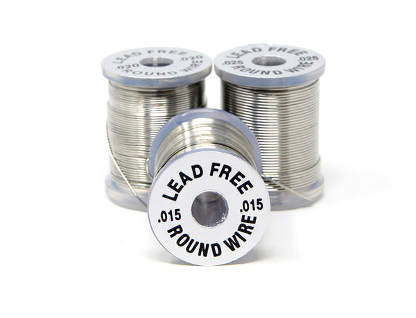 Lead Free Round Wire - Fly Tying
