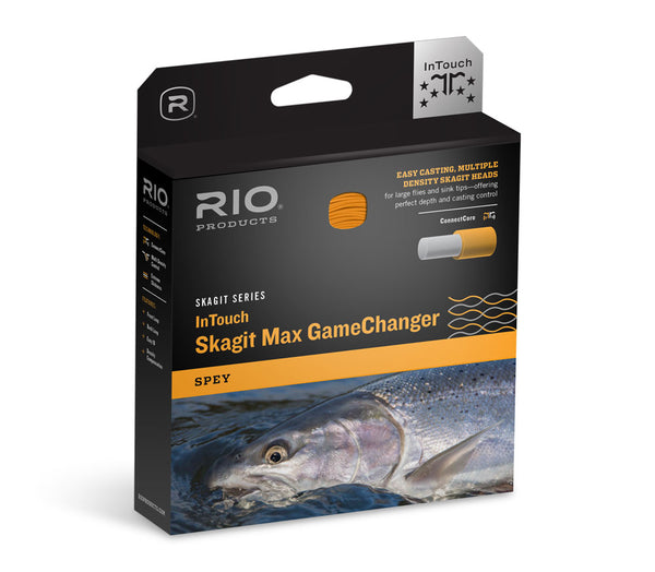 Rio InTouch Skagit Max GameChanger Shooting Head Fly Line