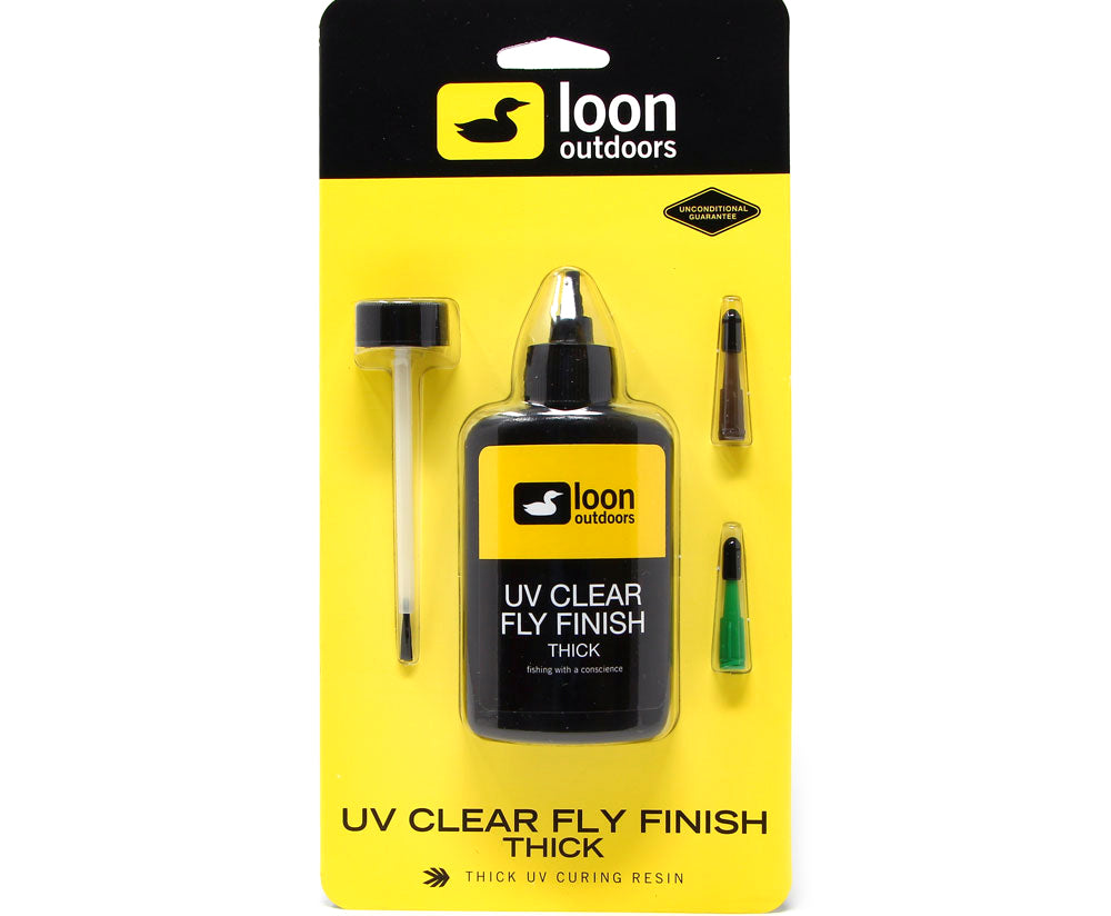 Loon Outdoors UV Clear Fly Finish - Thick (2oz)